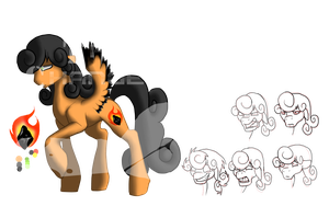Hymn for the Corrupted: FireCoal by AmzyTheChangeling