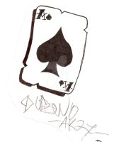 Ace of Spades 2 by LarsonJamesART