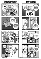 DC:P - 4Koma Circus 1 by Lorddragonmaster