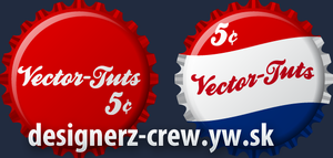 Create Vintage Vector Button by SET07