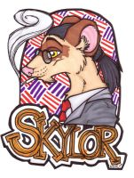 Badge - Skylor by misako
