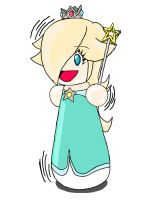 Rosalina Squeeky Doll by LatexNineTails