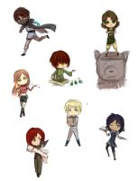RC: chibi dump 1 by firstfarewell
