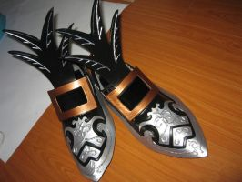 WIP Kuja Shoes by SoCoPhDPepper