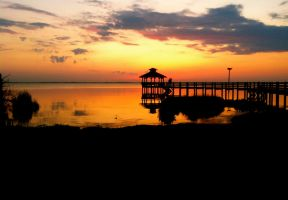 Outer Banks Sunset by hairhatbeast5