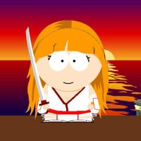 Kasumi...South Park Style by 2ndCityCrusader