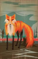 THE FOX by MY-METAL-HAND