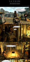 Skyrim Oddities: Jordis by Janus3003