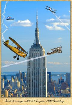 Empire State Planes by ZINDOM