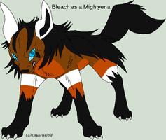 Mightyena - Bleach by King-Icarus