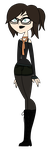 Tech Total Drama OC by Technicalogical