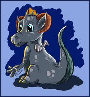 Baby dragon by Melody68