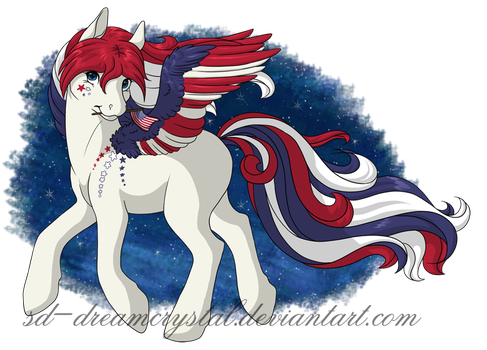 Happy 4th! by SD-DreamCrystal