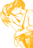 SketchKiss[7] by TheEmotionalPoet