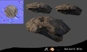 Rock asset #3 by NetGhost03