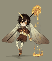 Adopts::Dessert Monsters-Honey toast CLOSED by Pandastrophic