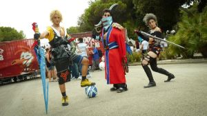 Sword Masters of Final Fantasy X X-2 by UndiciSmaug
