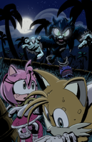 Sonic the Hedgehog #282 Cover by T-RexJones