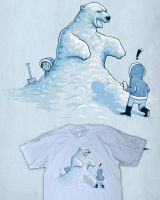 Ice bear by Naolito