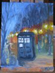 Tardis Painting by icefrogprincess3