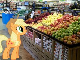 Applejacks favorite department by porygon2z