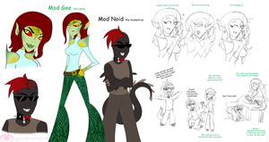 MH: The Mods as Monsters by KPenDragon