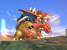 Bowser Rapes Charizard 2 by Sonic50210