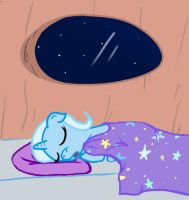 Simply Sleepy Filly Trixie by TheParagon