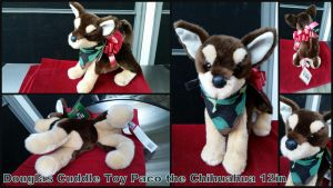 Douglas Paco The Chihuahua 12in by Vesperwolfy87