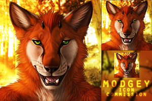 Modgey icon commission by DarkIceWolf