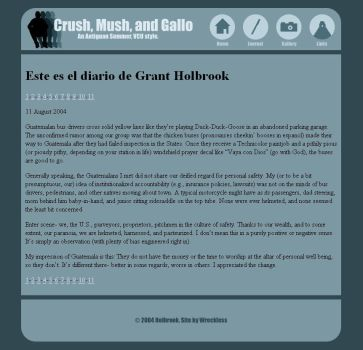Crush Mush and Gallo by Wreckless-Agony