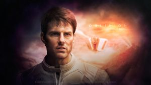 Oblivion. Tom Cruise. by push-pulse