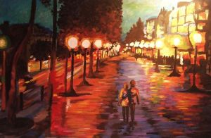 One night in Paris by esztfi