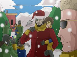 A christmas without borders by elboludo