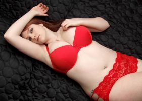Shivvy Red Lingerie 03 by stphq