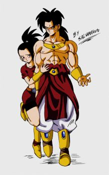 Kale and Broly by salvamakoto