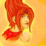 Flame Princess by artbubble13