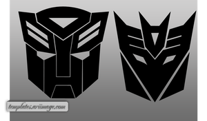 Transformer Logo Shapes by ariimage