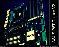ASUS P6T Deluxe V2 by dimplegal