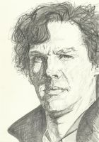 Sherlock- A Study in Pencil by SheenaBeresford