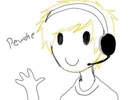 PEWDIE fail by artist-san