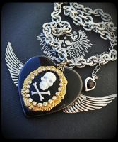 Queen Of Pirates Necklace by francescadani