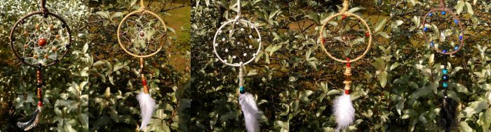 More small dreamcatchers by Spyrre
