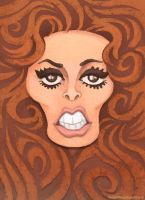 Raquel Welch by WonderDookie