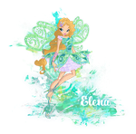 Elena Butterflix: Final Pose by Cyberwinx