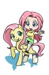 Fluttershy and Fluttershy by shepherd0821