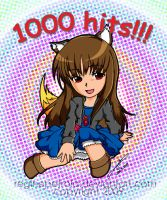 1000 hits Spice and Wolf by reginepetrola