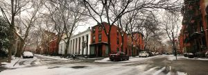 Brooklyn Heights in the Snow by RedBall