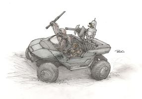The Crossover Warthog by RobtheDoodler