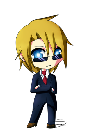 chibi michael Von coppola by Lezzette